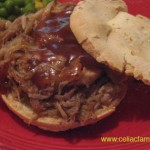 Pulled Pork Sandwiches easy, slow-cooked recipe
