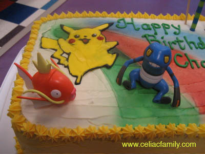 pokemon birthday cake image