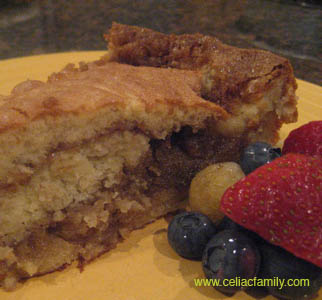 GF Banana Coffee Cake