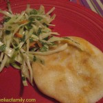 Friday - Pupusas and Spicy Slaw