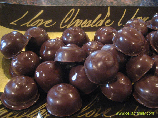 Chocolate Macadamia Nut Candy