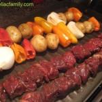 Beef & Veggie Kabobs