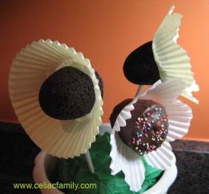 Brownie Pop Flower Bouquet