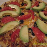 Mexican Chicken Pizza @CeliacFamily -- #GlutenFree