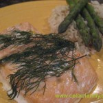 Salmon with Lemon & Dill